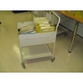 Medical Records Library Trolley